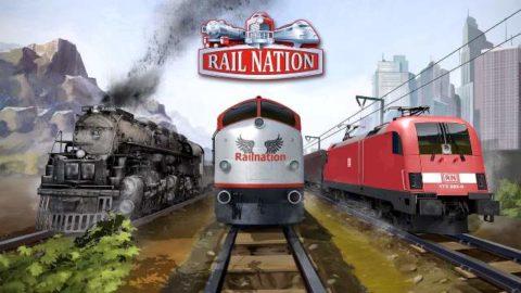 Rail Nation играть онлайн в поезда на русском языке