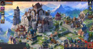 Throne Kingdom at War играть онлайн официальный сайт Plarium
