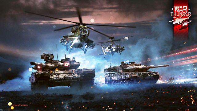 War Thunder вертолеты