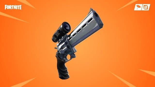 Фортнайт - новый револьвер с оптическим прицелом