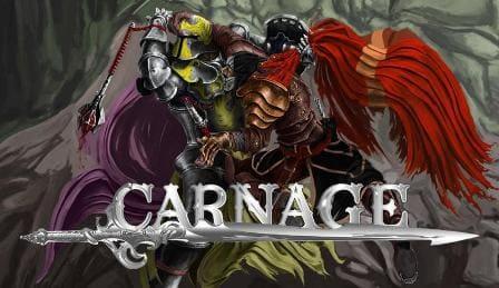 Carnage браузерная MMORPG онлайн игра