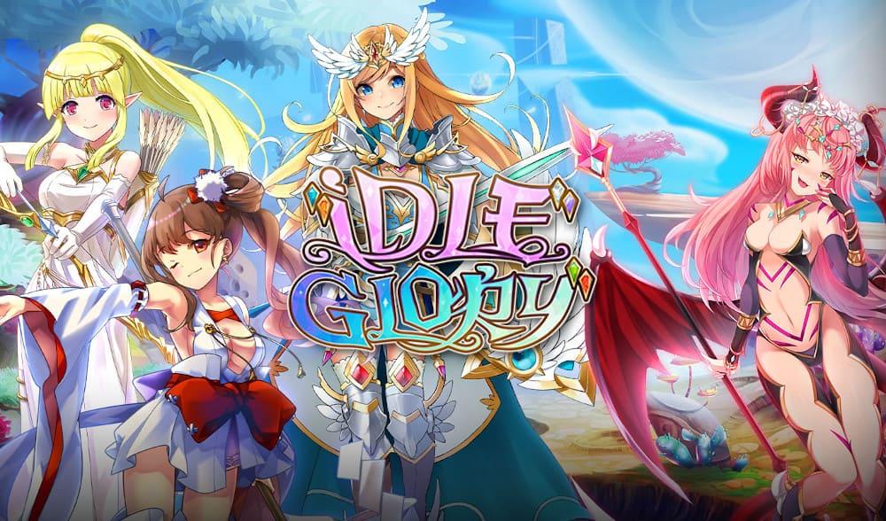 Idle Glory - браузерная аниме онлайн игра на русском языке