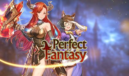 Perfect Fantasy — играть в аниме игру бесплатно онлайн на официальном сайте